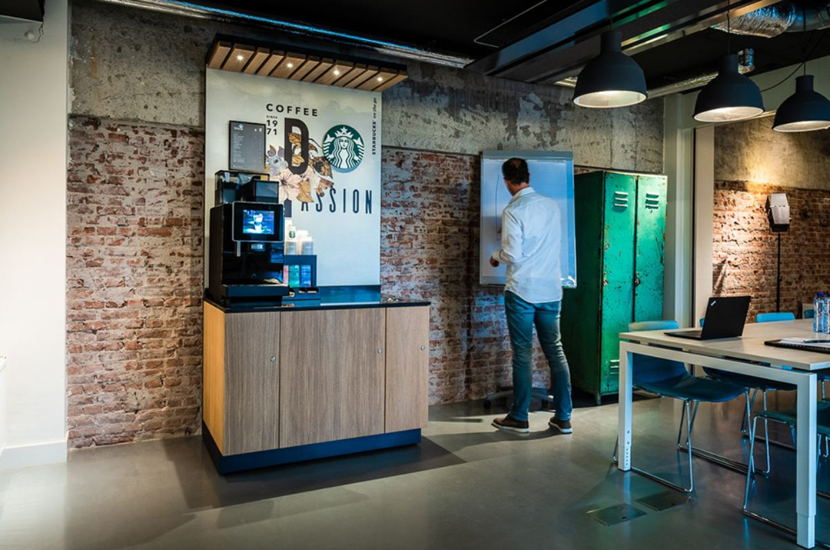 Starbucks on the go Workplace - Passion