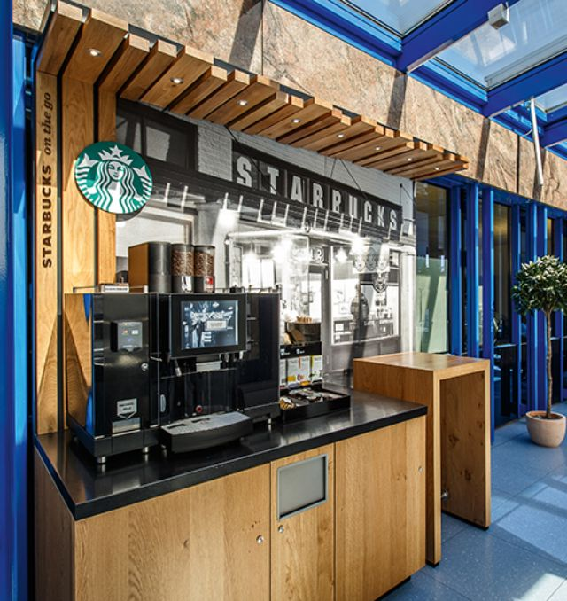 Starbucks on the go Concept