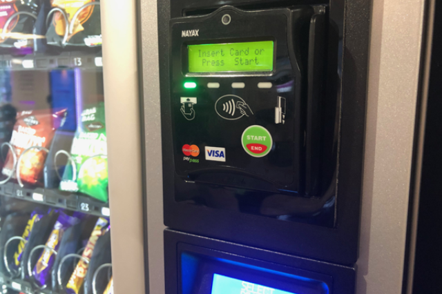 Contactless Payment Vending Machines