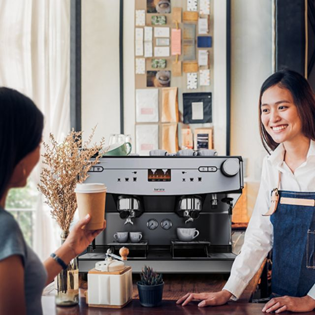 Coffee services for cafes and coffee shops