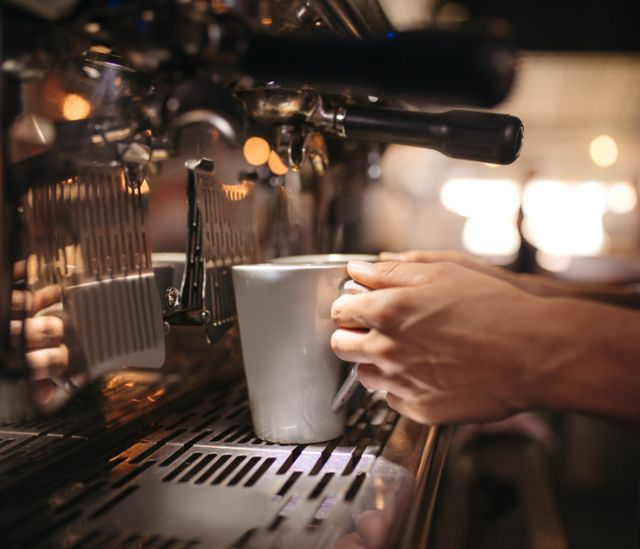 Coffee machines for restaurants